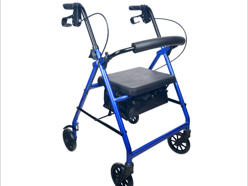 Seat Walker - Rollator - Four Wheeled Territory Walker